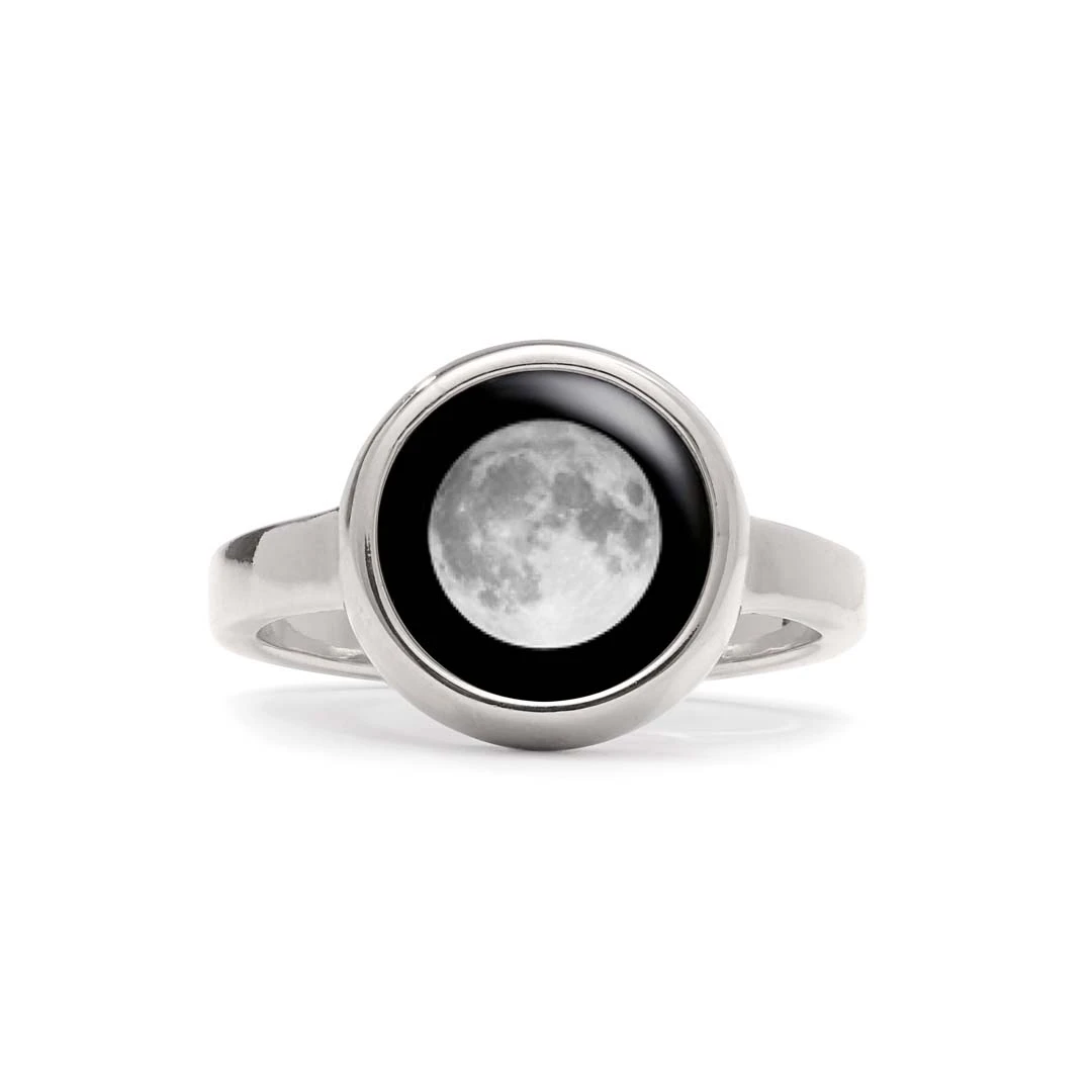 Mile stone moon Ring