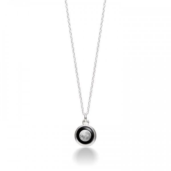 Mini Silver Simplicity Necklace